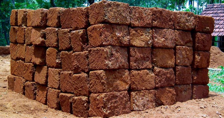Manual transportation of bricks